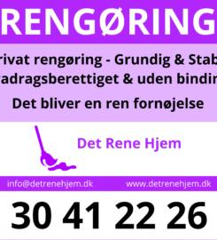 Rengøring i Frederikssund – Book Det Rene Hjem